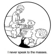 Nietzche Family Circus--I never speak to the masses
